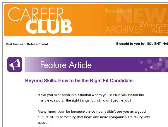 Career Club: But I nailed that interview!